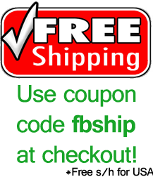 Free shipping to anywhere in the USA